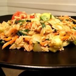 Healthy Main Dishes: Vegetarian Lime Orzo | Leisure Life Style